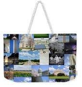 Washington D. C. Collage  Weekender Tote Bag