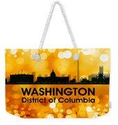 Washington Dc 3 Weekender Tote Bag