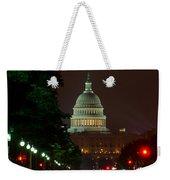 Washington Dc At Night Weekender Tote Bag