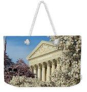 Washington Dc Cherry Blossom Supreme Court Weekender Tote Bag