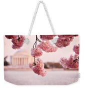 Washington Dc Cherry Blossoms Weekender Tote Bag