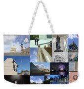 Washington D. C. Collage 3 Weekender Tote Bag