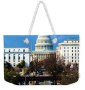 Washington D.c. - Elevated View Weekender Tote Bag