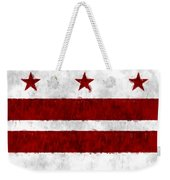 Washington D.c. Flag Weekender Tote Bag