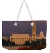 Washington Dc Iconic Landmarks Weekender Tote Bag