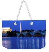 Washington D.c. - Memorial Bridge Weekender Tote Bag