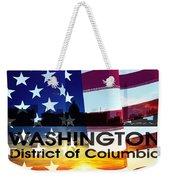Washington Dc Patriotic Large Cityscape Weekender Tote Bag