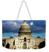 Washington D.c. - Storm Clouds Build Weekender Tote Bag