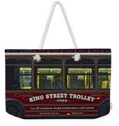 Washington Dc Trolley Weekender Tote Bag