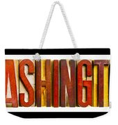 Washington Weekender Tote Bag