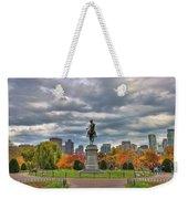 Washington In The Public Garden Weekender Tote Bag by Joann Vitali