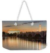 Washington Landmarks At Dawn I Weekender Tote Bag