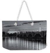 Washington Landmarks At Dawn II Weekender Tote Bag