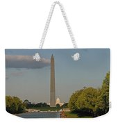 Washington Monument And Capitol Building-2 Weekender Tote Bag