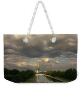 Washington Monument And Capitol Weekender Tote Bag