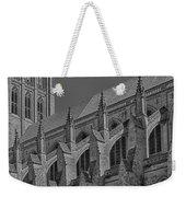 Washington National Cathedral  Bw Weekender Tote Bag