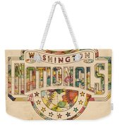 Washington Nationals Poster Art Weekender Tote Bag