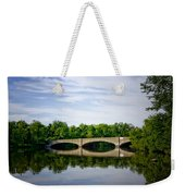 Washington Road Bridge Over Lake Carnegie Princeton Weekender Tote Bag