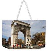 Washington Square Arch New York City Weekender Tote Bag