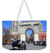 Washington Square Pianist Weekender Tote Bag