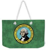 Washington State Flag Weekender Tote Bag