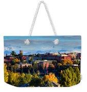 Washington State University In Autumn Weekender Tote Bag by David Patterson