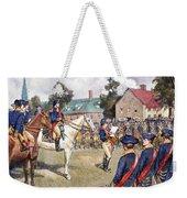 Washingtons Army, 1776 Weekender Tote Bag