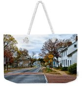 Washington's Crossing In The Fall Weekender Tote Bag