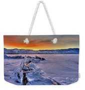 Washoe Ice Weekender Tote Bag