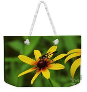 Wasp On A Susan Weekender Tote Bag
