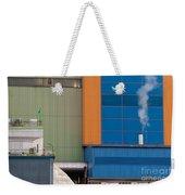 Waste-to-energy Plant Detail Oberhausen Germany Weekender Tote Bag