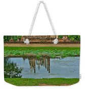 Wat Mahathat In13th Century Sukhothai Historical Park-thailand Weekender Tote Bag