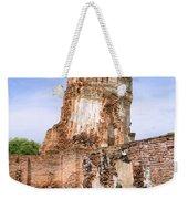 Wat Mahathat Temple In Ayutthaya Weekender Tote Bag