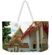 Wat Po In Bangkok-thailand Weekender Tote Bag