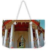 Wat Suthat In Bangkok-thailand Weekender Tote Bag