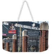 Watch Out For Batted Balls Weekender Tote Bag by Susan Candelario