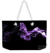 Watch The Flow - Purple Weekender Tote Bag