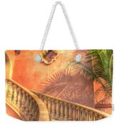 Watch Your Step And Welcome Weekender Tote Bag