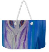 Watcher In The Blue Weekender Tote Bag
