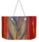 Watcher In The Red Weekender Tote Bag