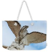 Watchful Eagle Weekender Tote Bag
