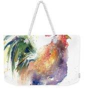 Watchful Rooster Weekender Tote Bag