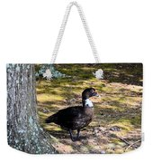 Watching From The Forest Weekender Tote Bag