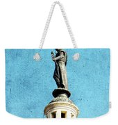 Watching Over The Plaza Weekender Tote Bag