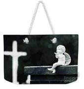 Watching Over Them Weekender Tote Bag by Trish Mistric