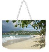 Watching The Beach Weekender Tote Bag
