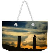 Watching The Sunrise Weekender Tote Bag