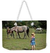 Watching The Wild Horses Weekender Tote Bag