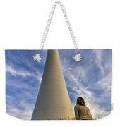 Watching Wind Power Weekender Tote Bag