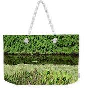 Water And Green Weekender Tote Bag